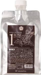 オブ・コスメティックス ソープオブへア・1-ROシットリ エコサイズ(ローズの香り)1,000ml