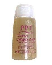 画像1: 【サンプル】PPTコラーゲン&シルクシャンプー 乾燥肌&普通肌(しっとり) 20ml (1)
