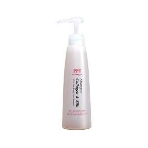 画像1: PPTコラーゲン&シルクシャンプー 乾燥肌&普通肌(しっとり)400ml (1)