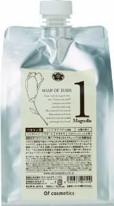画像1: オブ・コスメティックス ソープ オブヘア・1-Ma エコサイズ(マグノリア「木蓮」の香り)1,000ml (1)