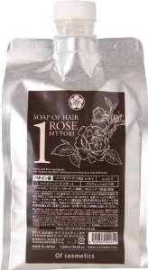 画像1: ソープオブへア・1-ROシットリ エコサイズ(ローズの香り)1,000ml (1)