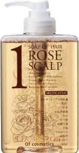 画像1: オブ・コスメティックス 薬用ソープオブヘア・1-ROスキャルプ スタンダードサイズ (ローズブーケの香り)265ml … (1)