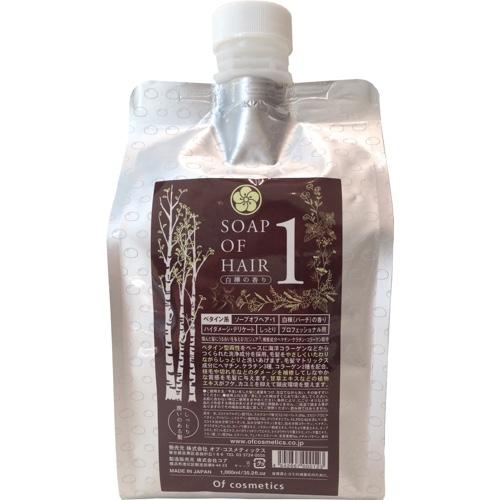 画像1: ソープオブへア・1 エコサイズ(白樺の香り) (1)