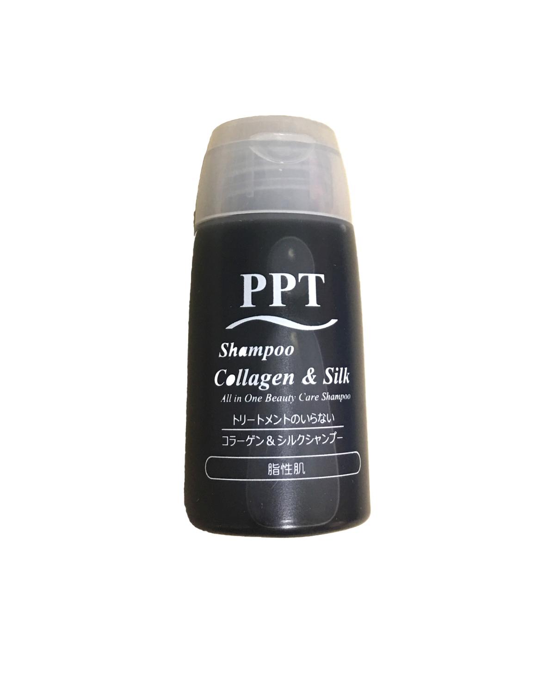 画像1: 【サンプル】PPTコラーゲン&シルクシャンプー (男性用)20ml (1)